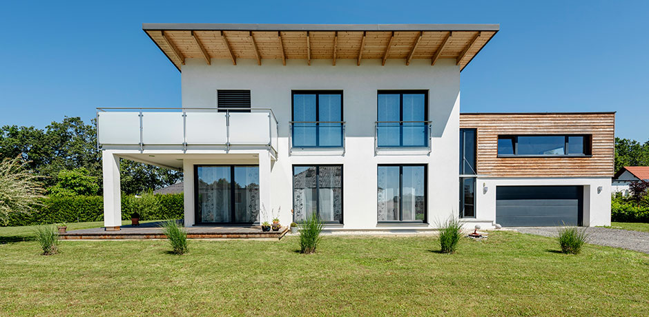 pultdachhaus in kumberg lieb fertighaus. Black Bedroom Furniture Sets. Home Design Ideas