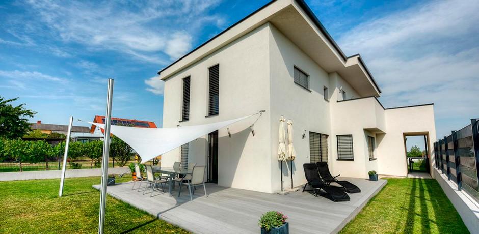 pultdachhaus in gleisdorf lieb fertighaus. Black Bedroom Furniture Sets. Home Design Ideas