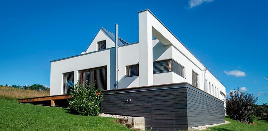 Satteldachhaus in baden lieb fertighauslieb fertighaus for Modernes haus technik