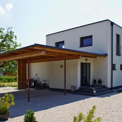 Flachdachhaus Pöllau Flachdach Lieb Fertighaus Steiermark Burgenland