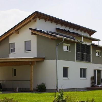 Pultdachhaus Wiener Neudorf Pultdach Lieb Fertighaus Steiermark Burgenland
