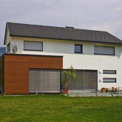 Satteldachhaus Neunkirchen Satteldach Lieb Fertighaus Steiermark Burgenland