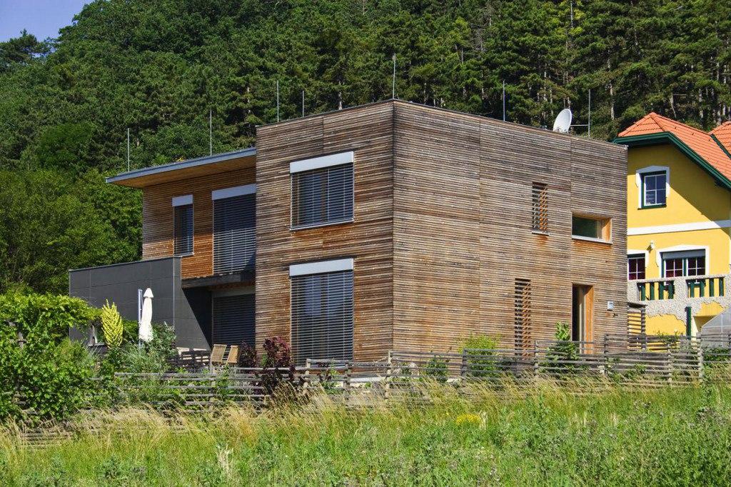 flachdachhaus in wollsdorf lieb fertighauslieb fertighaus. Black Bedroom Furniture Sets. Home Design Ideas