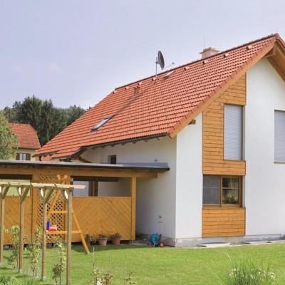Satteldachhaus St. Kathrein Satteldach Lieb Fertighaus Steiermark Burgenland