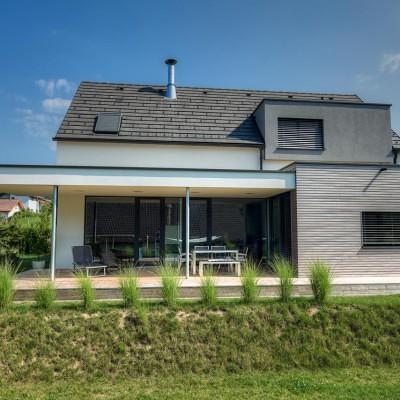 Satteldachhaus Pinkafeld Satteldach Lieb Fertighaus Steiermark Burgenland