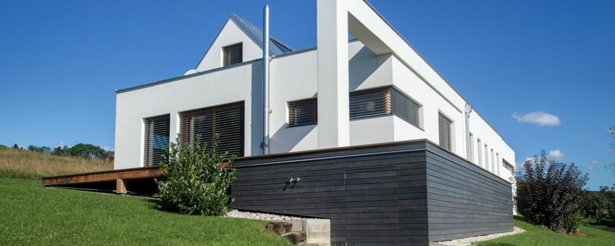 fertigteilhaus individuell geplant und rasch bezugsfertig. Black Bedroom Furniture Sets. Home Design Ideas