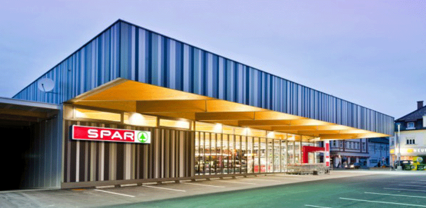 Beitragsbild burgenländischer Holzbaupreis SPAR Markt Oberwart
