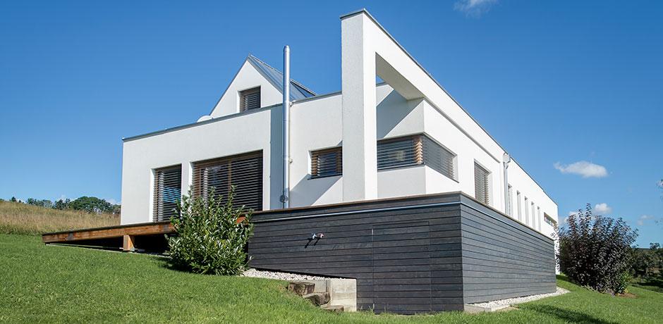 Das Lieb Fertigteilhaus lässt sich individuell planen.